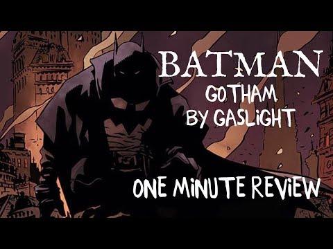 BATMAN: Gotham by Gaslight - One Minute Review (NO SPOILERS)