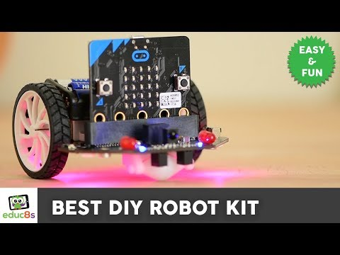 Best DIY Robot kit for beginners - Micro:Bit - YouTube