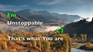 You are God Alone (lyrics & chords)  Phillips, Craig & Dean