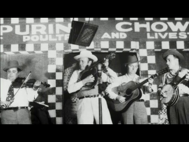 Bill Monroe and his Blue Grass Boys - Rare Live Grand Ole Opry Recording of the First Bluegrass Band