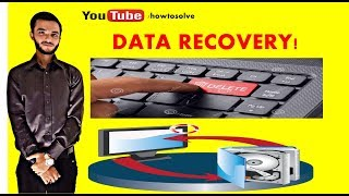 How to Recover Deleted  Data  in a Window in Urdu/hindi |EASY TUTORIAL