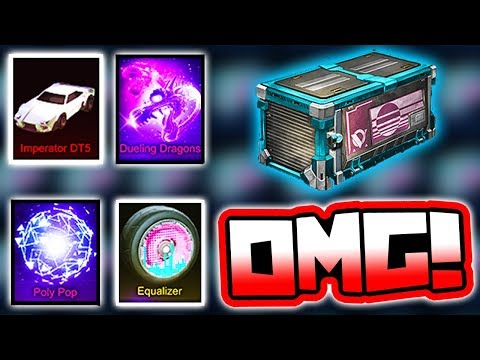 ALL VELOCITY CRATE ITEM PRICES!! ( Rocket League - Dueling Dragons, DT5 & More! )