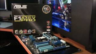 Asus F1A75-V-PRO Motherboard Review