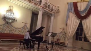 Gambar cover Walter Siano plays Bach-Busoni Preludio Corale
