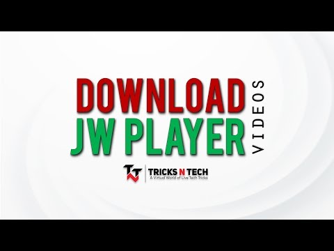 How to Download JW Player Videos [Updated 2019] - YouTube