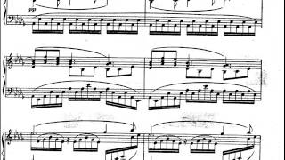 Claude Debussy - (Piano) Clair de Lune from Suite Bergamasque (with score)