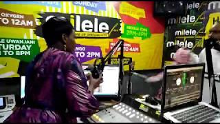 Dee (Presenter 001) And Kaka Zema fight in Studio   Milele Drive