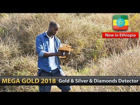 Gold & Silver & Diamond Detector in Ethiopia |  Mega Gold detector