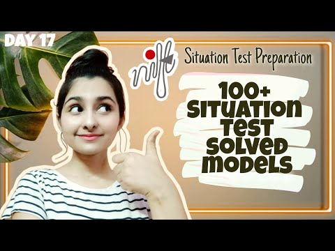 100+ Situation Test Solved Models | Situation Test Preparation| Day 17