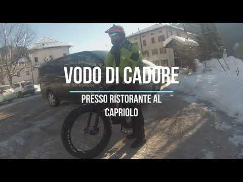 Da Vodo di Cadore al Rifugio Talamini. In Fat E-Bike nelle Dolomiti Orientali.