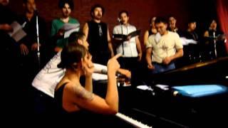 Our Lady J | Rehearsal at El Vicio in Mexico City