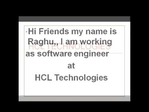 HCL Technologies Referral drive