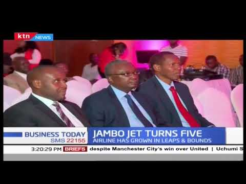 Jambo jets airlines marks fives years as the demand for local travel scales-up