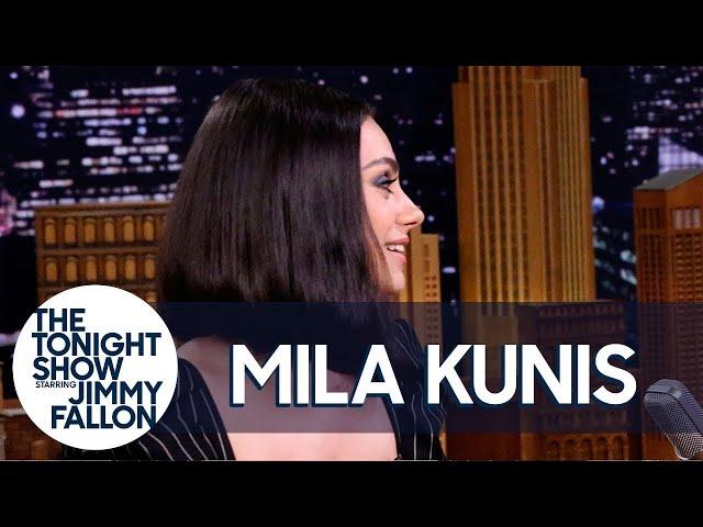 Mila Kunis Spent Her Honeymoon in an RV Park with Ashton Kutchers Parents