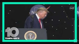 President Donald Trump, VP Mike Pence applaud historic NASA, SpaceX launch