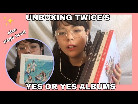 UNBOXING TWICE'S (트와이스) YES or YES ALBUM (ft. Page Two) GIVEAWAY CLOSED