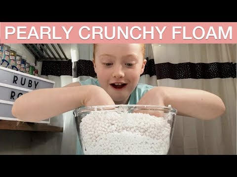 DIY Pearly Crunchy Floam Slime | Ruby Rose UK