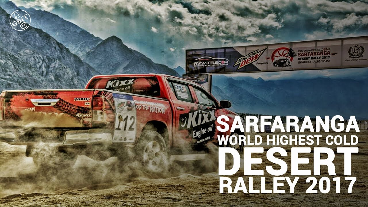 First Ever World S Highest Cold Desert Jeep Rally Held At Sarfaranga