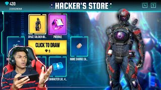 I Got Space Soldier Bundle From New Hacker Store OMG At Garena Free Fire 2020