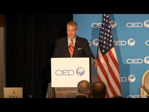 CED 2017 Fall Policy Conference: Senator Daniel S. Sullivan