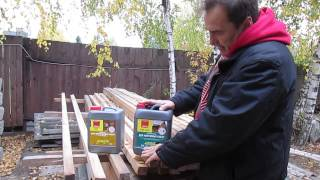 Средства защиты древесины деревянного дома от вредителей