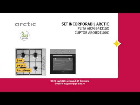 Reclamă ALTEX - set incorporabil ARCTIC - decembrie 2015