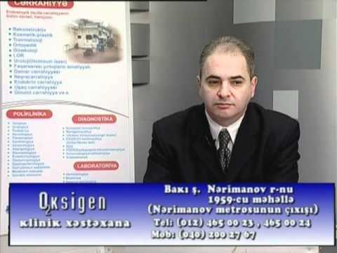 Cərrah-onkoloq Yaşar Qocamanov Mövzu...