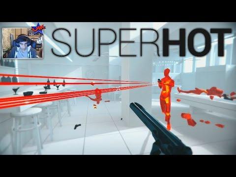 I CONTROL TIME?! - SUPERHOT #1 with Vikkstar