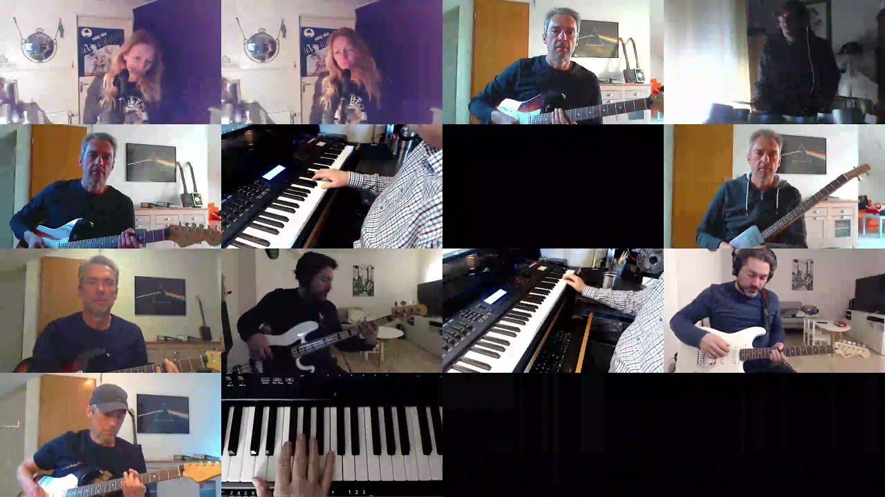 BANDHUG cover of Still Corners - The Message - cover