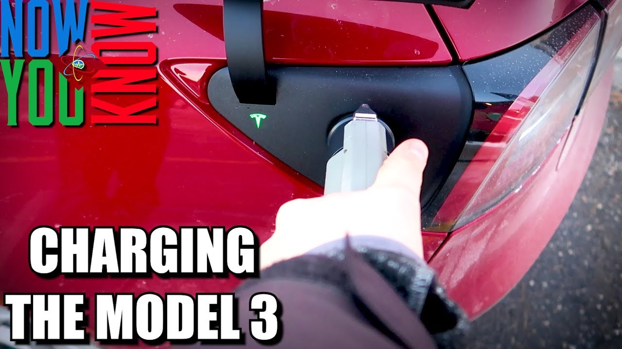 How To Charge Your Tesla Model 3