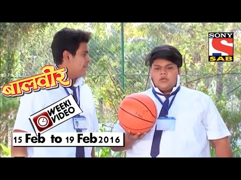 WeekiVideos | Baalveer | 15 Feb To 19 Feb 2016