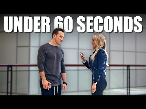How To Pick Up Girls (in Under 60 Seconds)