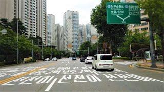 Seoul City Driving 서울 잠실역 롯데월드타워 석촌호수 잠실아파트 주변 운전 드라이브 영상