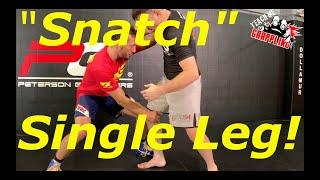 Jordin Humphrey SNATCHES the Single Leg like a BEAST!! Video