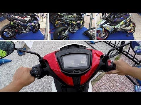 Chạy Thử Yamaha Exciter 150 2019 Chiêm Ngưỡng Dàn Xe Exciter độ Trăm Triệu| Yamaha Test Ride