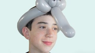 Balloon elephant hat