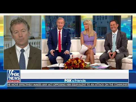 Rand Paul on Hillary Clinton Paying For Russian Trump Dossier