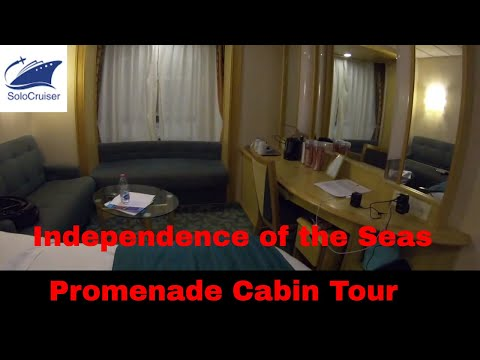 Independence of the Sea Promenade Cabin Tour