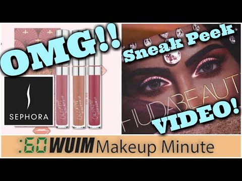 Colour Pop Coming to SEPHORA! + Huda Beauty Desert Dusk Palette!