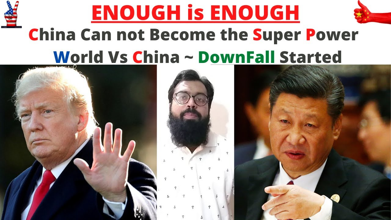 China Can not Become the Super Power of the World in 2020 | Battle with a Hidden Virus Destroy China