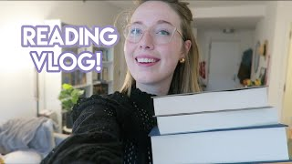 READING VLOG: 500 Pages + Beautiful Weather!