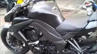 Kawasaki Z1000 Diablo black with Yoshimura exhaust