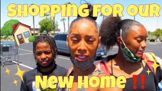 SHOPPING FOR MY NEW HOUSE & CLEARING THE DRAMA!!