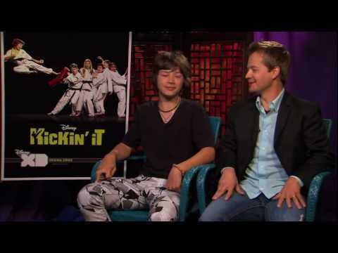 Kickin It Leo Howard & Jason Earles INTERVIEW 2011