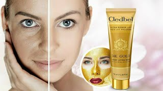 Гледбел маска для лица золотая