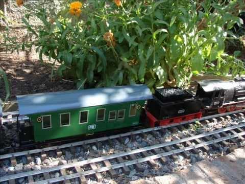 Garden trains: Building a  large scale car