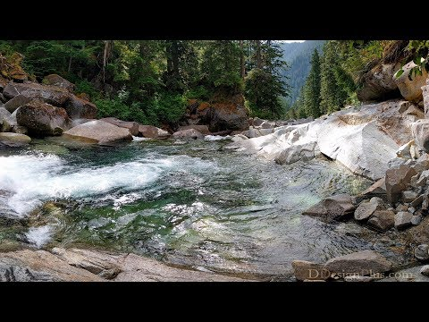 Middle Fork Of The Snoqualmie River - Washington State
