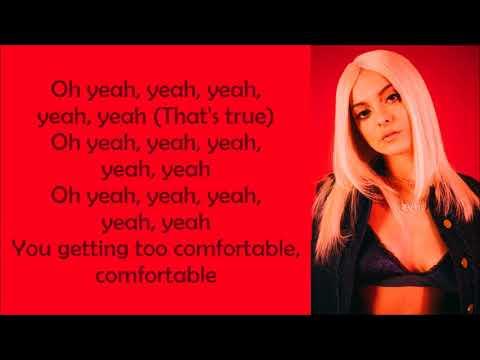 Bebe Rexha ~ Comfortable ft. Kranium ~ Lyrics