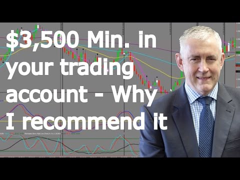Day Trading Futures, Why I Recommend $3500 Min In Your Account