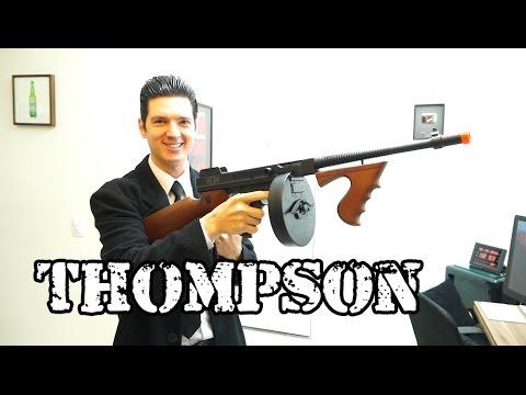 Thompson King Arms FINALMENTE!! - Luiz Rider - Airsoft Brasil